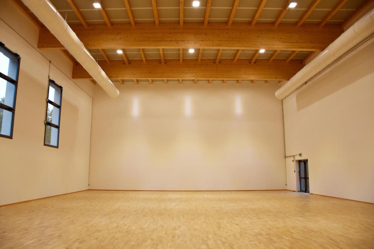 Edificio scolastico - Palestra di scherma