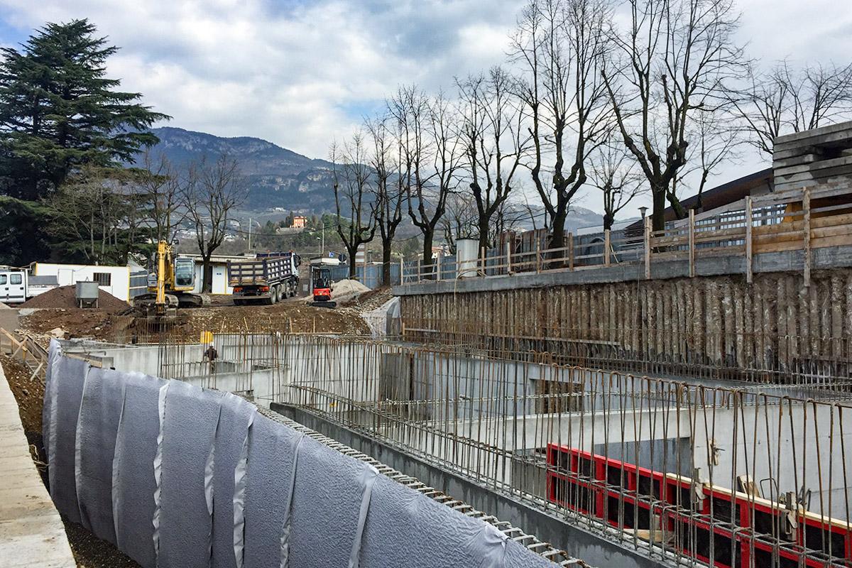 Nuova Biblioteca di Ingegneria - Università di Trento