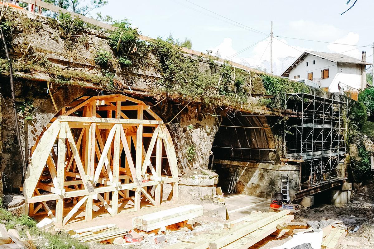 Ponte Torrente Gresal - Sedico