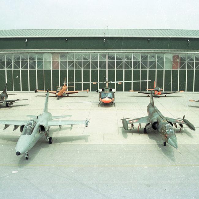 Hangar Aeronautica Militare - Aeroporto di Istrana